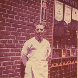 Reuben Savin, Jewish Pharmacist