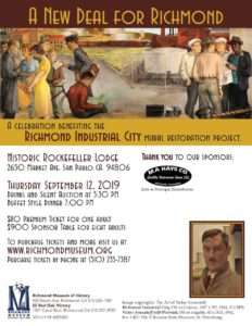 Awesome A New Deal For Richmond Arnautoff Mural Benefit Dinner Download Free Architecture Designs Scobabritishbridgeorg